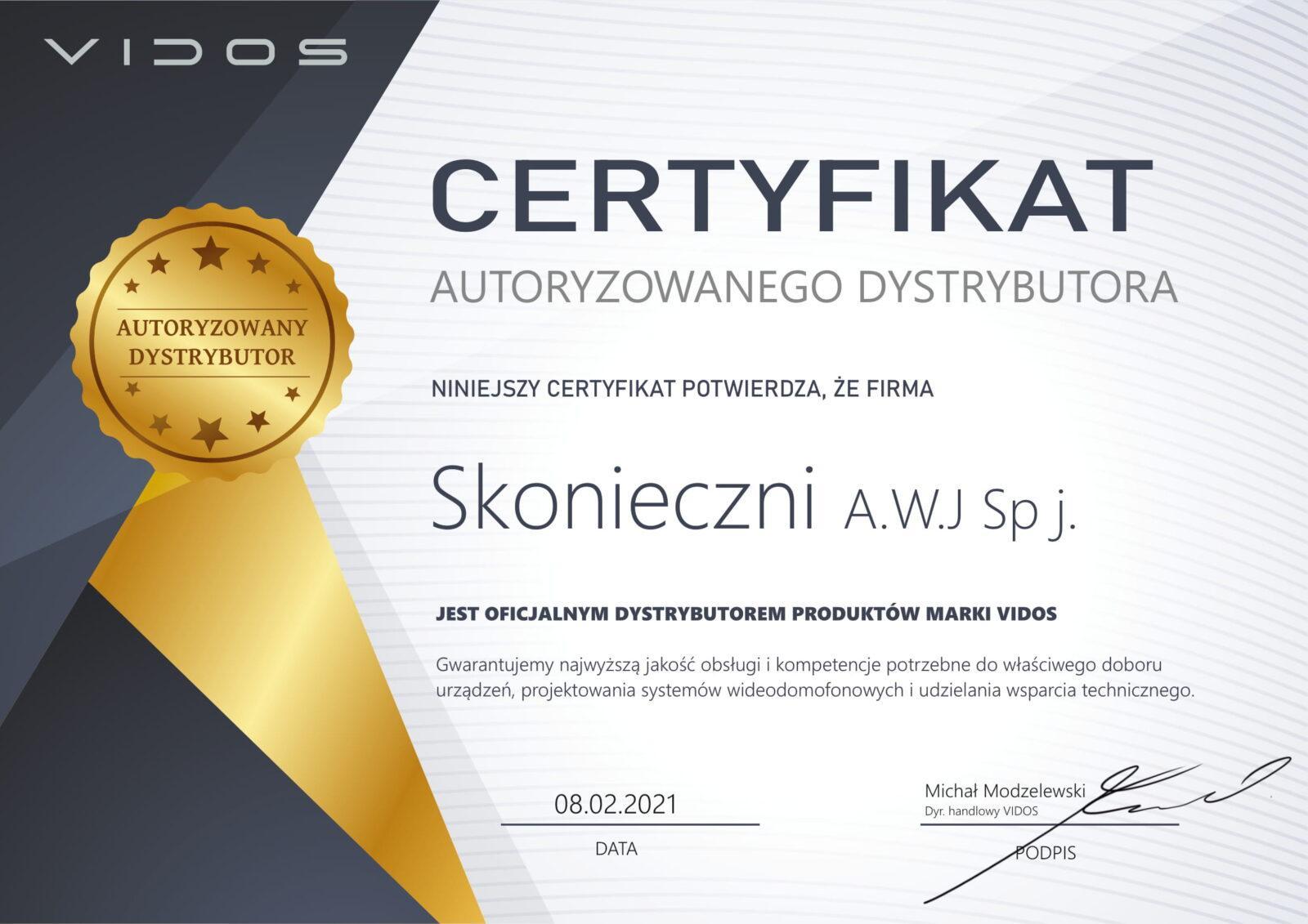 Skonieczni Vidos certyfikat-1